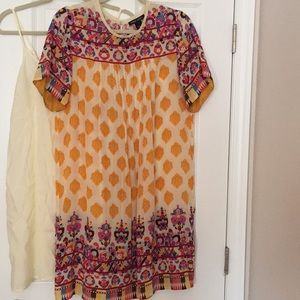 Anthropologie Beaded and Embroidered Dress
